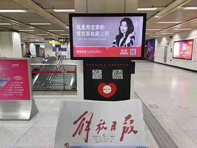 甩宝在上海46个最热地铁口全部布局广告.jpg