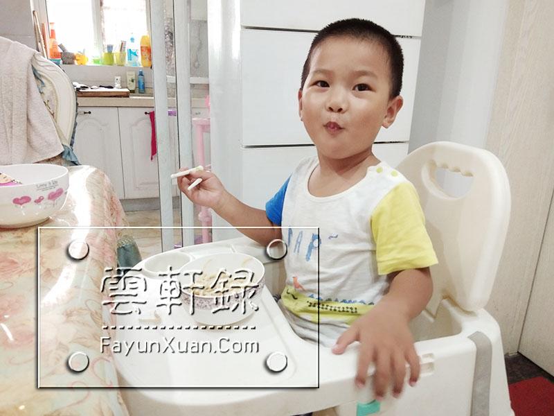 怎么培养孩子自己吃饭,云轩是这样做到的!