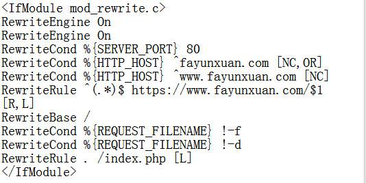 全站http301重定向到https的域名(Apache环境附代码).jpg