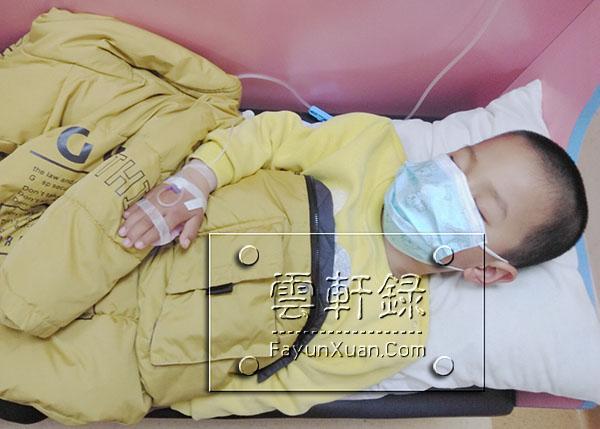 宝宝上幼儿园上火引起发烧发炎肚子疼.jpg