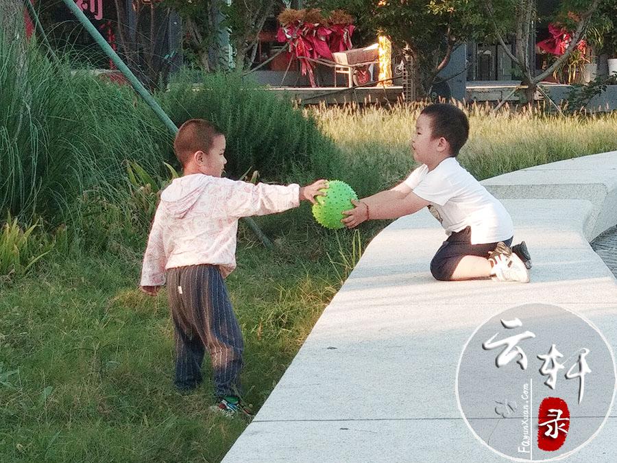 帮同龄小朋友捡球.jpg